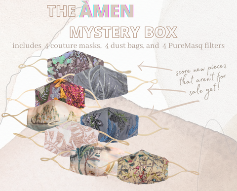 Image of ÀMEN Couture Mystery Box (Get 4 Masks)