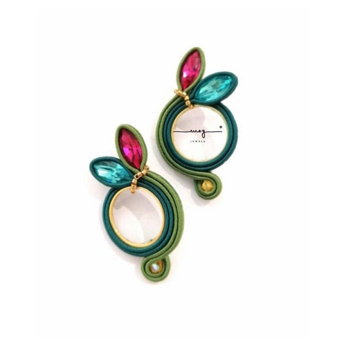 Earrings 'Amazzonia' small size