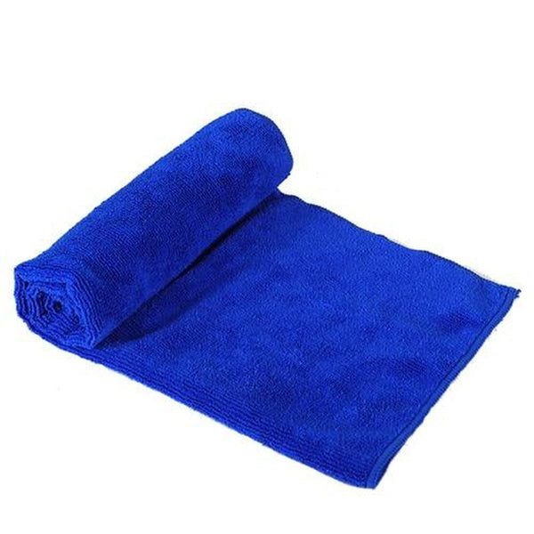 Absorbent Fiber Dog Bath Towel for Small and Medium Dogs-Dog Bath & Shower-S = 40 x 60cm-859839-blue-s-Paws and Whiskers
