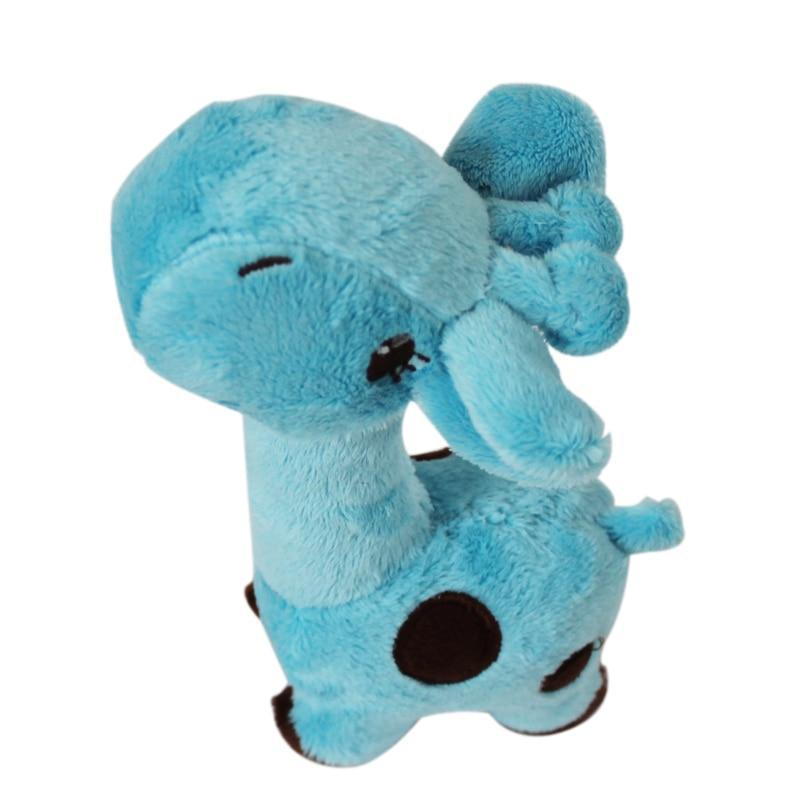 Animal Plush Dog Toy With Sound-Dog Plush Toys-Blue-2807628-blue-m-Paws and Whiskers