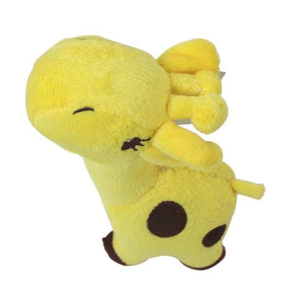 Animal Plush Dog Toy With Sound-Dog Plush Toys-Yellow-2807628-yellow-m-Paws and Whiskers