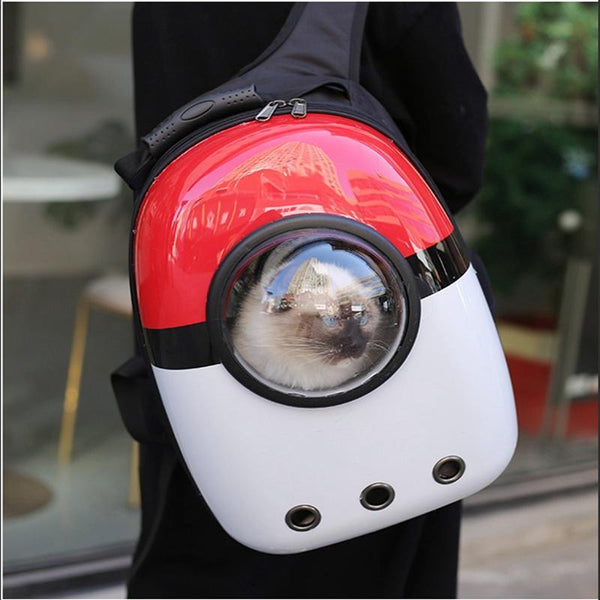 Astronaut Style Cat Backpack With Window-Cat Backpacks-Space Station-18063172-n-l-Paws and Whiskers