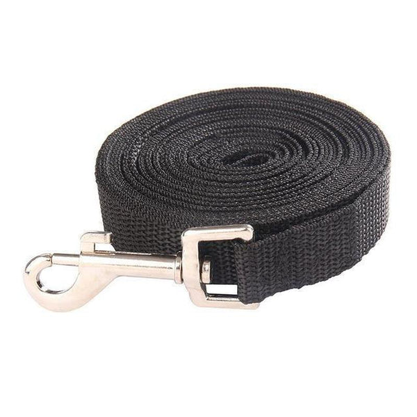 Basic Dog Leash-Dog Leashes-Black-1.8 m x 2 cm-19027127-black-1-8-m-x-2-cm-Paws and Whiskers