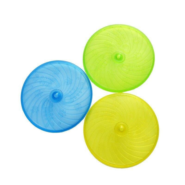 Bite-Resistant Flying Disc Dog Toy for Dog Training-Dog Flying Toys-6640110-20cm-random-Paws and Whiskers