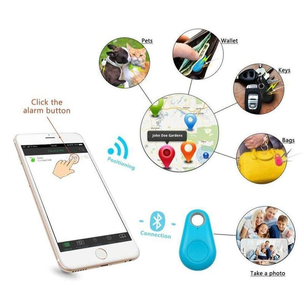 Bluetooth Dog Tracker That Works With Your Cellphone-Dog GPS Trackers-Black-23806395-black-free-size-Paws and Whiskers