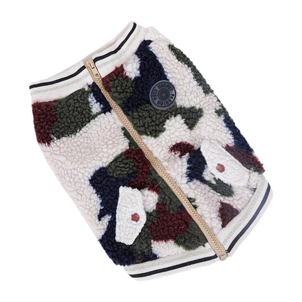 Camouflage Print Dog Sweater-Dog Sweaters & Coats-S-31467429-camouflage-s-Paws and Whiskers