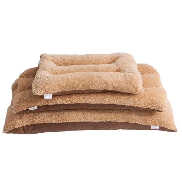 Classic Dog Bed for Small to Large Dogs-Dog Beds-Berber Fleece-50x70cm-35934016-berber-fleece-50x70cm-Paws and Whiskers