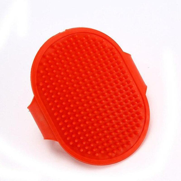 Dog Brush Pad for Shedding Pet's Loose Hair-Dog Brushes, Combs & Blowdryers-Red-16545664-red-s-8-5x13cm-Paws and Whiskers