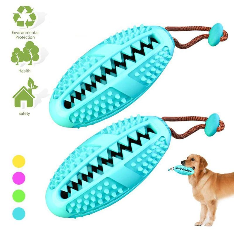 Dog Toothbrush for Dogs of all Sizes and Ages-Dog Dental care-Blue-28412748-blue-s-china-Paws and Whiskers