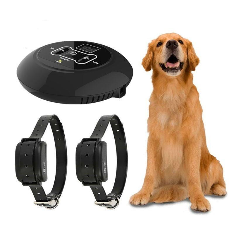 Electronic Fence Dog Training Collar with Remote Control-Dog Wireless Fences-For 1 Dog-AU Plug-26288699-for-1-dog-au-plug-Paws and Whiskers