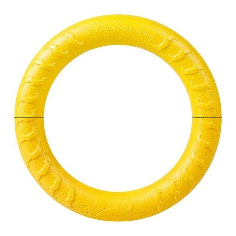 Flying Ring Dog Toy for Playing Catch and Swimming-Dog Flying Toys-Ring-26693278-ring-m-Paws and Whiskers
