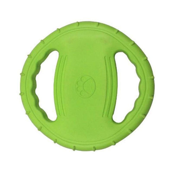 Flying Saucer-Shaped Dog Toy for Interactive Plays with Dog-Dog Flying Toys-Green-16128625-green-free-Paws and Whiskers