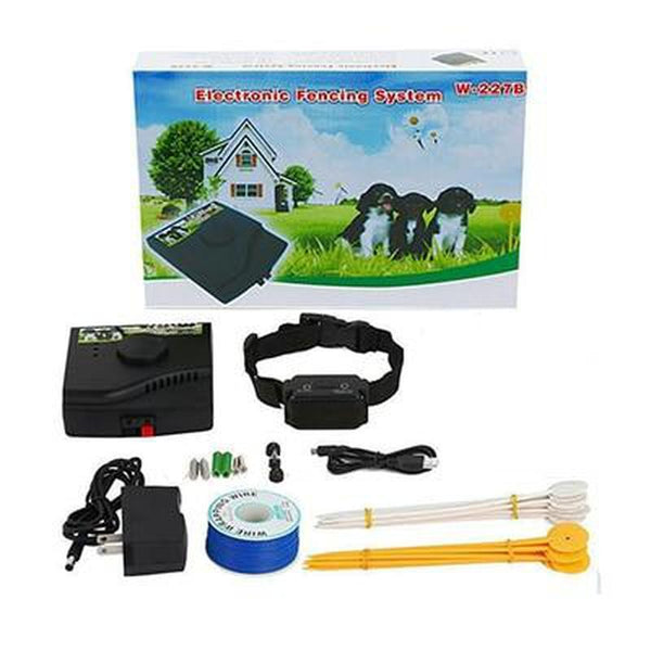 In-Ground Electronic Fence Dog Training Collar for All Dogs-Dog Wireless Fences-For 1 Dog-AU Plug-26141239-for-1-dog-au-plug-Paws and Whiskers