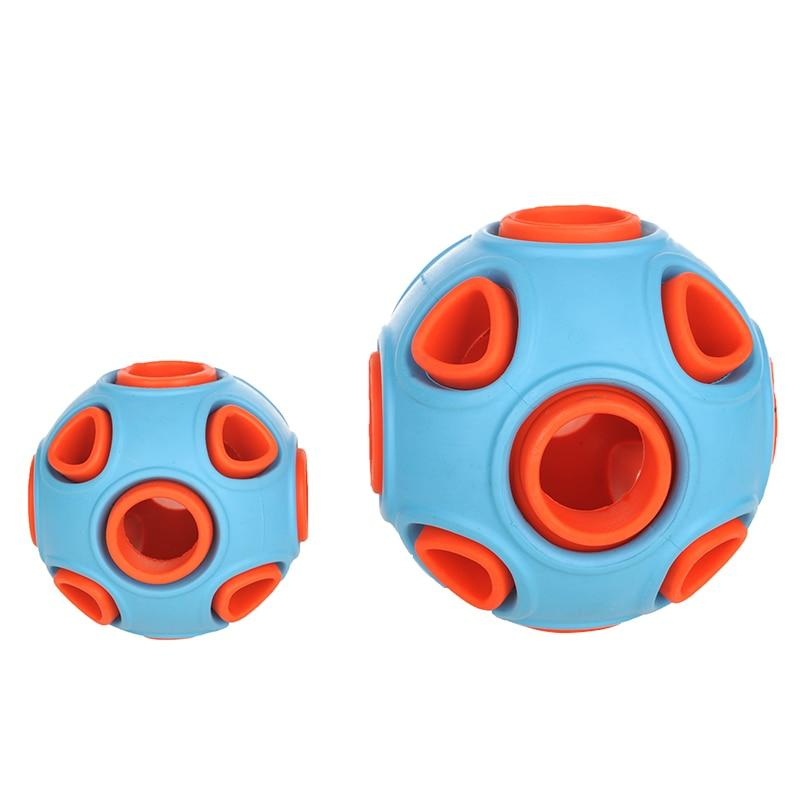 Interactive Dog Toy Rubber Chewing Ball for Dogs-Dog Balls-Blue-Small-29917680-as-photo-as-photo-Paws and Whiskers
