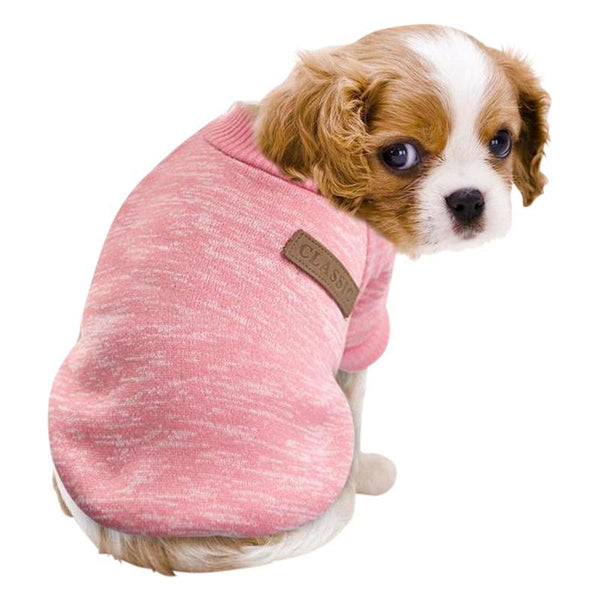 Marl Jersey Cotton Dog Sweater-Dog Sweaters & Coats-Blue-XS-20918529-blue-xs-Paws and Whiskers