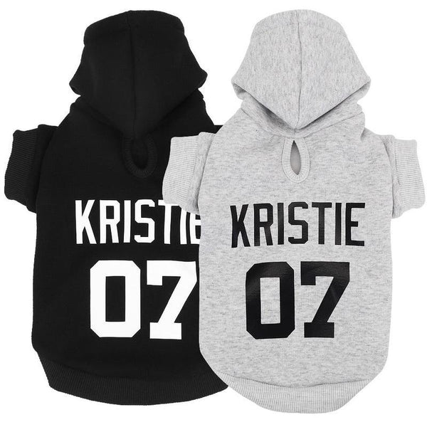 Personalized Cotton Sporty Dog Sweater-Dog T-Shirts & Tank Tops-Black-XS-28826943-black-xs-Paws and Whiskers