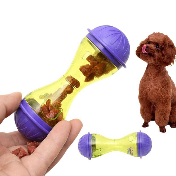 Plastic Bone Shaped Dog Slow Feeder and Toy-Dog Slow Feeders-20361504-purple-11x4-5cm-china-Paws and Whiskers