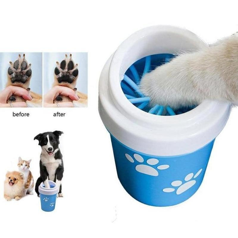 Portable Dog Paw Washer-Dog Bath & Shower-Blue-S-23026961-blue-china-s-diameter-6-5cm-Paws and Whiskers