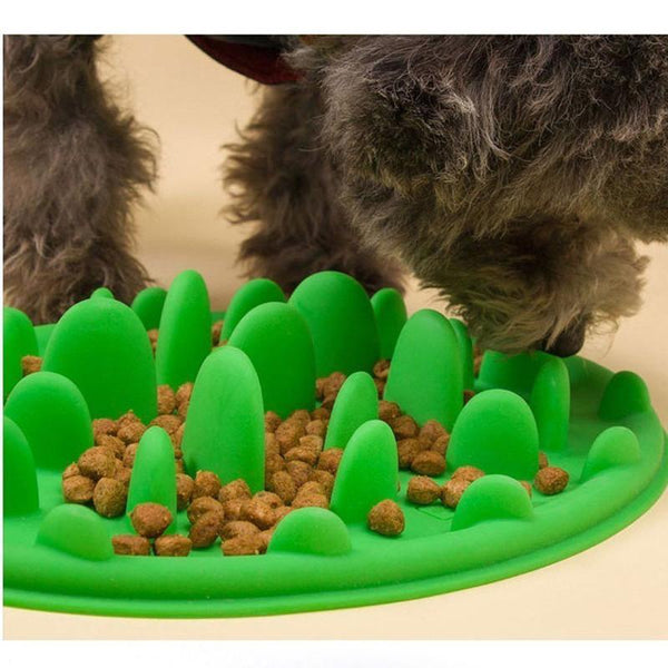 Slow Automatic Dog Feeder Suitable for All Dog Breeds-Dog Slow Feeders-Blue-34997913-blue-Paws and Whiskers