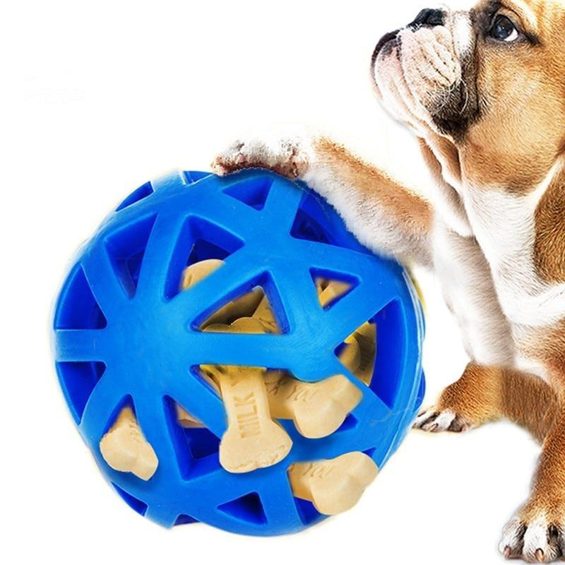 Slow Feed Ball Dog Toy-Dog Slow Feeders-3235091-blue-free-size-Paws and Whiskers