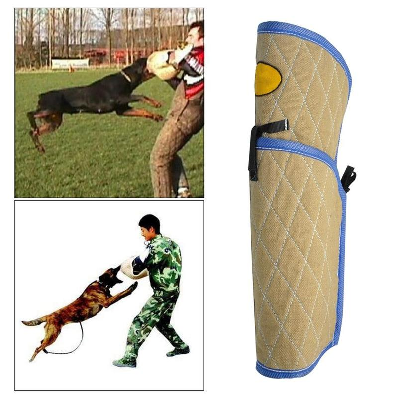 Thick Dog Bite Sleeve for Dog Agility Training-Dog Agility Equipment-5919344-see-size-description-7-Paws and Whiskers
