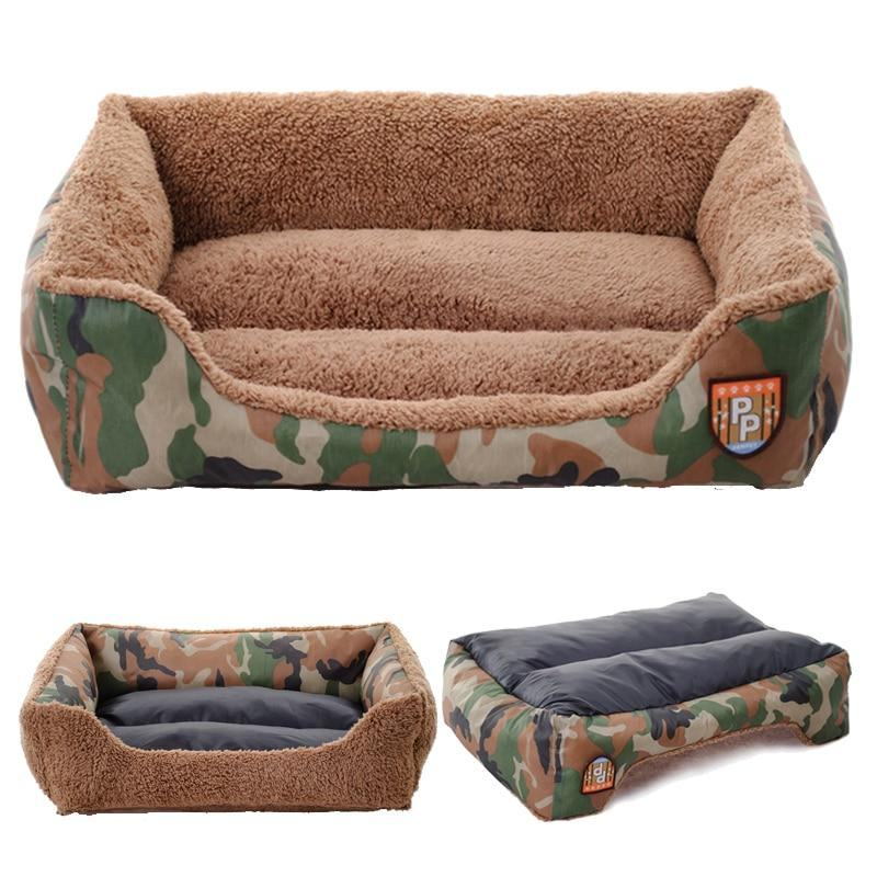 Washable Doggy Bed Suitable for Small and Medium Dogs-Dog Beds-Camouflage-S-18789732-camouflage-s-Paws and Whiskers