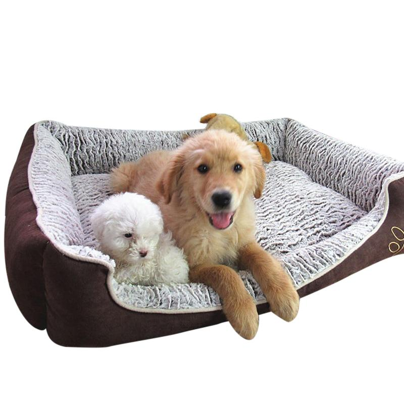 Waterproof Dog Bed Made From Cotton-Dog Beds-M-34055657-as-the-photo-shown-m-Paws and Whiskers