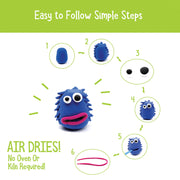 Air Dry Clay Activity Kit to Promote Independence