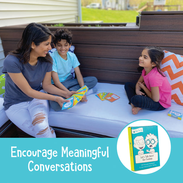 Let's Talk: Conversation Starters for Kids to Discuss Feelings
