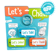 Let's Chat Portable Conversation Starter Cards