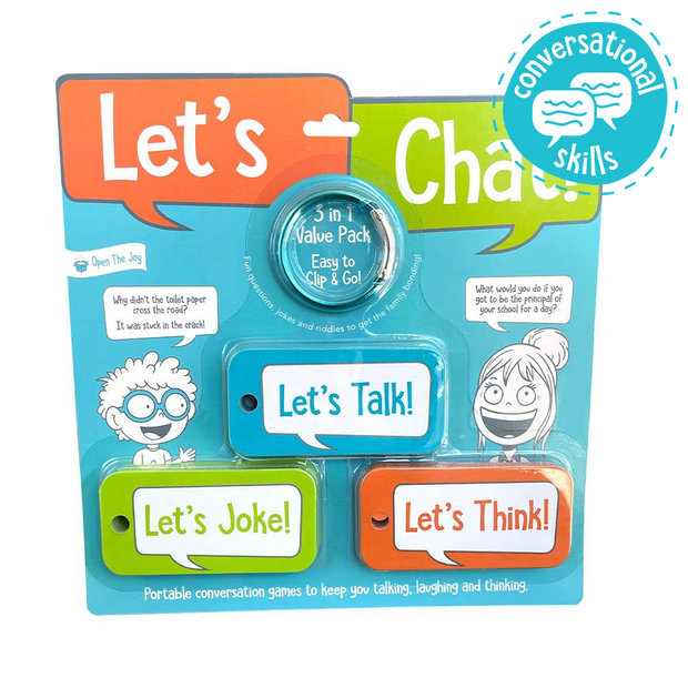 Let's Chat 3-in-1 Portable Conversation Cards