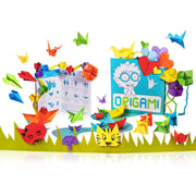 Origami gift activity kit fro children to learn Japanese folding