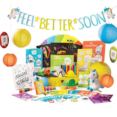Open the Joy feel better kit open get well soon present