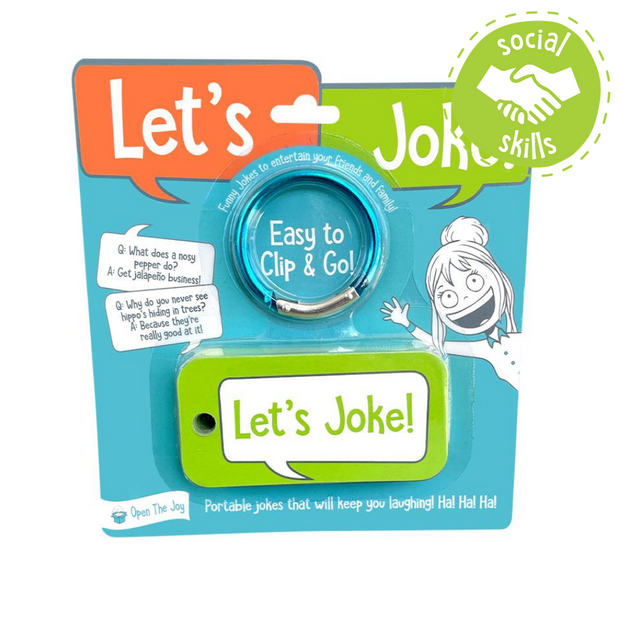 Let's Joke Portable Conversation Cards