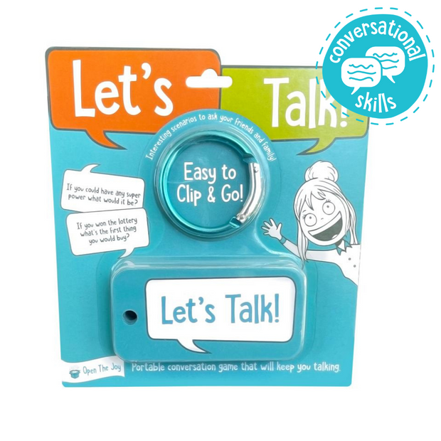 Let's Talk Portable Conversation Cards