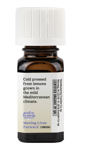 Organic Lemon Pure Essential Oil