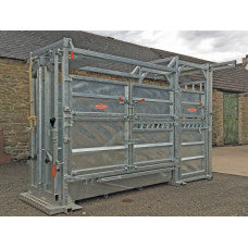 Ritchie Extended Length Continental Cattle Handling Chute - 309G