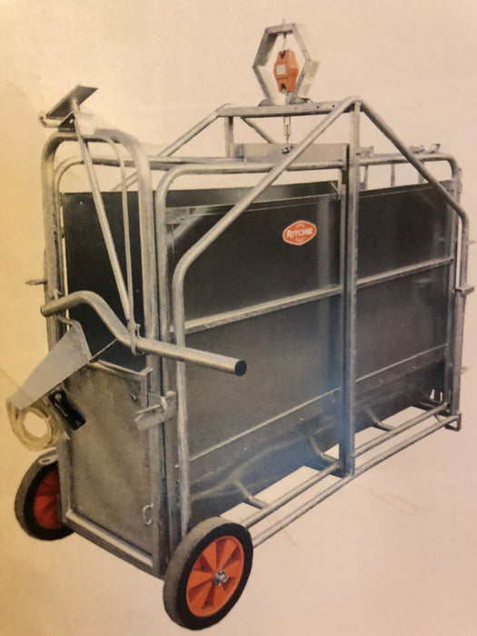 Ritchie Calf Weighing Crate on Wheels - 345G & 345GE & 345G-100