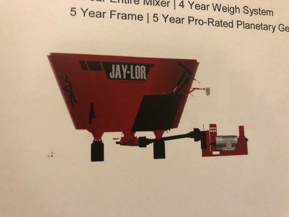 Jaylor Vertical TMR Mixer 5000 Series