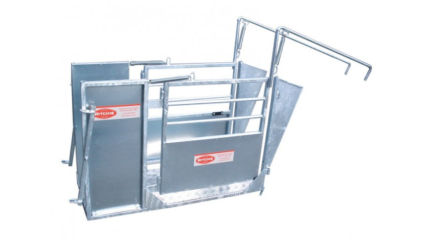 3-Way Sorting Gate for Combi Clamp Sheep Handling System