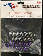 Outback Wrap - 2 Pairs (Purple and Gray 5 & 6) for Small Hydraulic Hoses