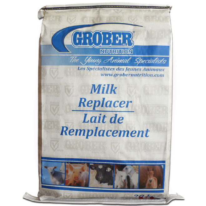 Grober Milk Replacer for use with the Heatwave Milk Warmer