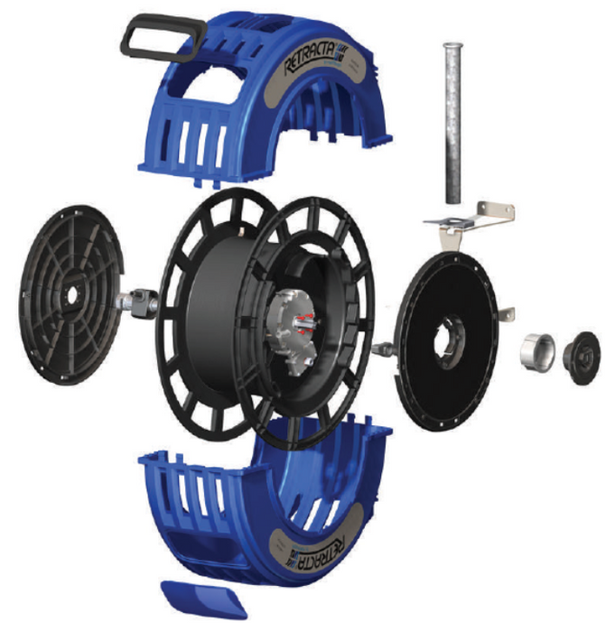 Retracta R3-RACR Adjustable Return Hose Reel