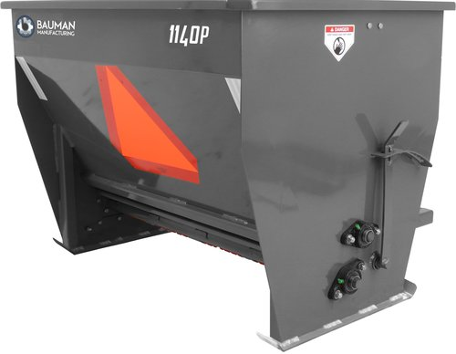 Bauman Mfg. Model 1140 Drop Spreader