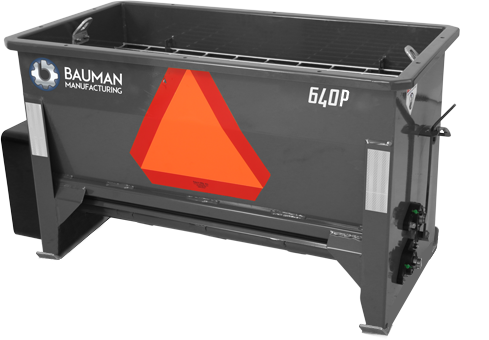 Bauman Mfg. Model 640 Drop Spreader