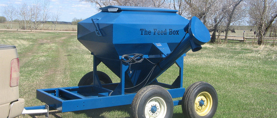 Feedbox for Front end Loader