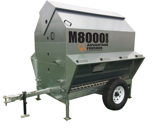 mobile calf creep feeder, advantage feeder, 3in1Feeder, control feeding, m8000hd