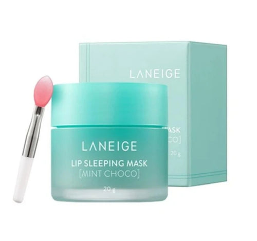 LANEIGE Lip Sleeping Mask Choco Mint 8g, 20g - HelloPeony
