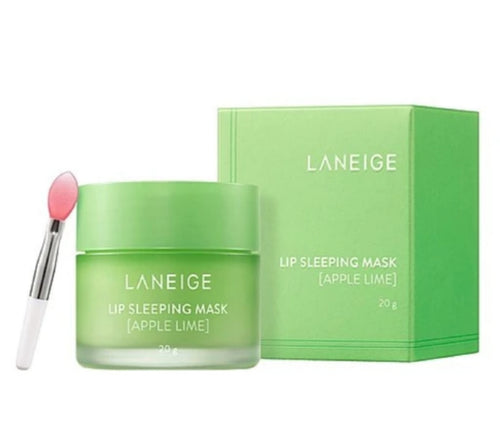 Laneige Lip Sleeping Mask [Apple Lime] 20g, 8g - HelloPeony