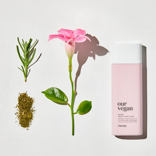 MANYO OUR VEGAN DAILY SUN FLUID GLOW - HelloPeony